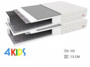 Pohánkové matrace Bambino Normal 90x200 (2 ks) - 1+1