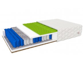 Kvalitný matrac Vally s taštičkami 160x200x19