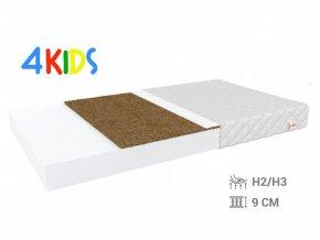 Detský kokosový matrac Bambino Coir Max 180x80x10