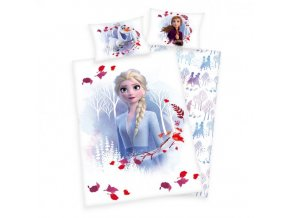 Detské bavlnené obliečky 100x135+40x60 - Frozen