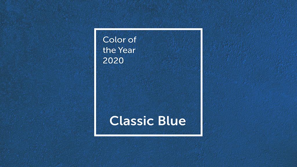 I. Na vlnách classic blue. Proč je dobré znát barvu roku?