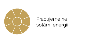 Pracujeme na solární energii