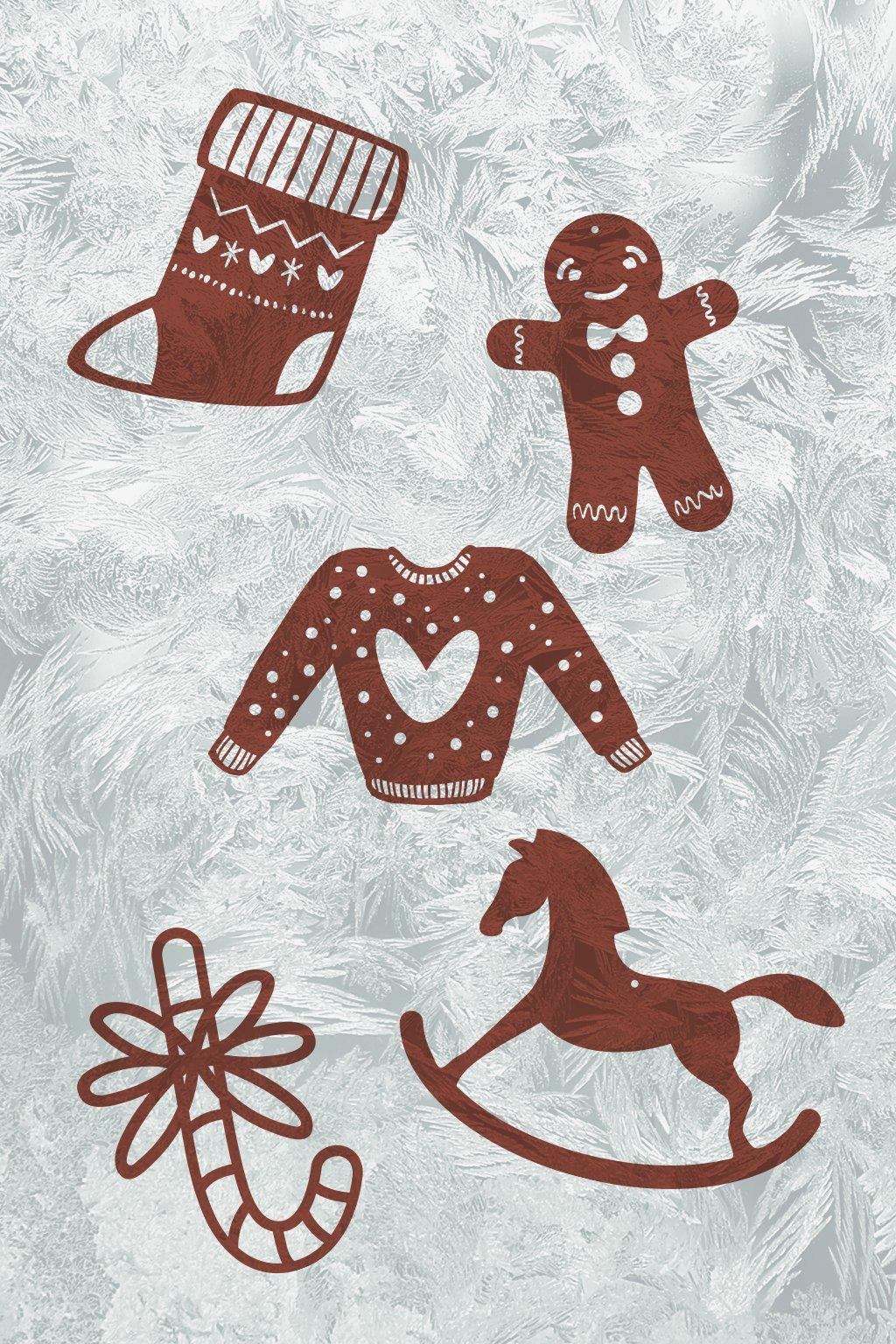 Dřevěná vánoční kolekce s tradičními vánočními motivy Kouzlo Vánoc | JAA∞TY