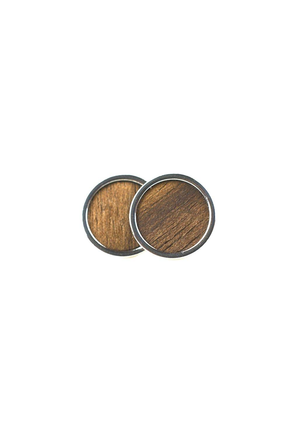 Dřevěné náušnice Juglans Nigra | JAA∞TY