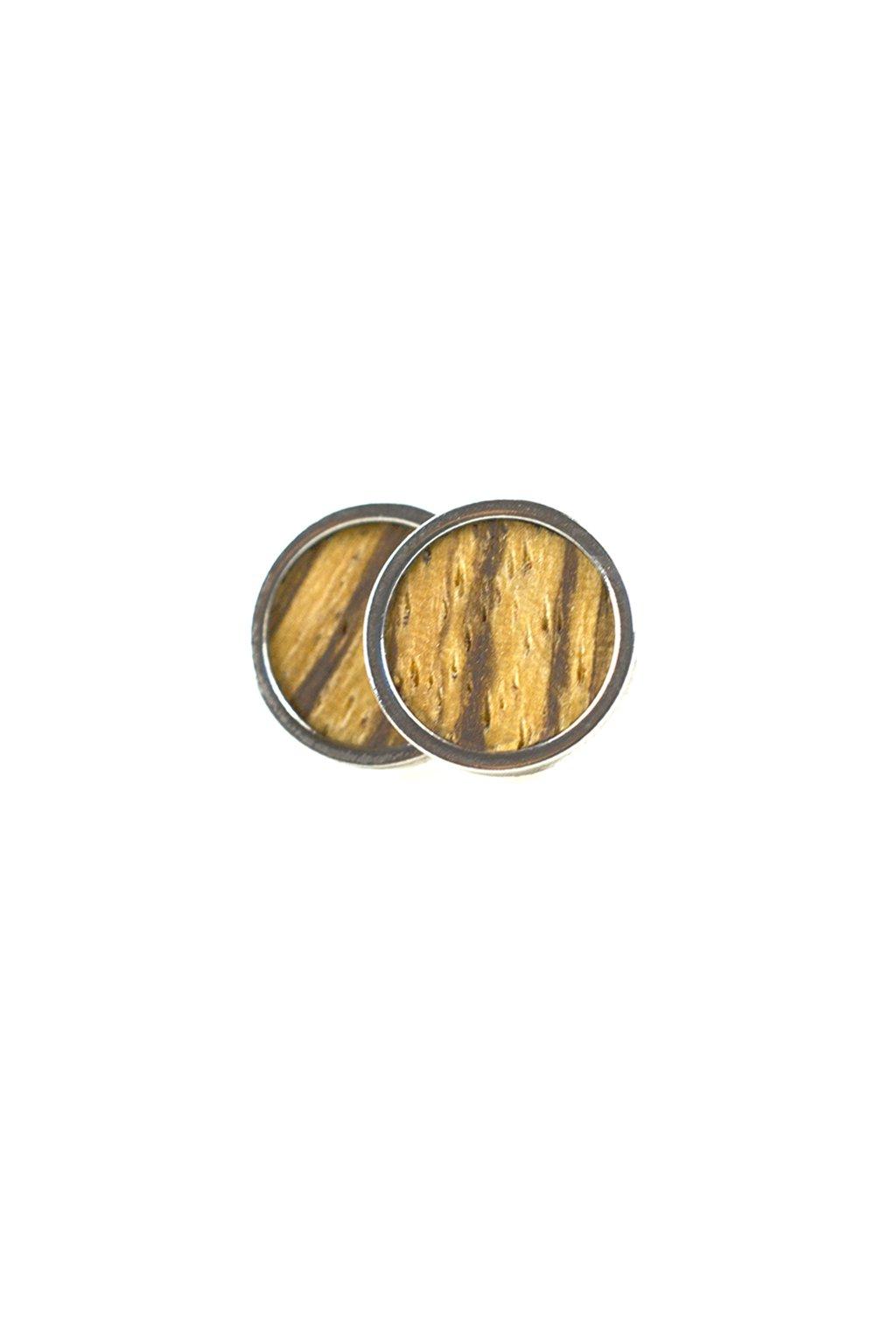 Dřevěné náušnice Astronium | JAA∞TY