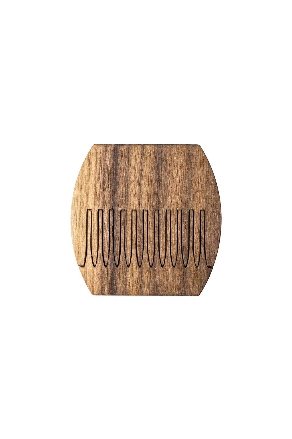 Kapesní dřevěný hřebínek Pocket z ořechového dřeva | JAA∞TY