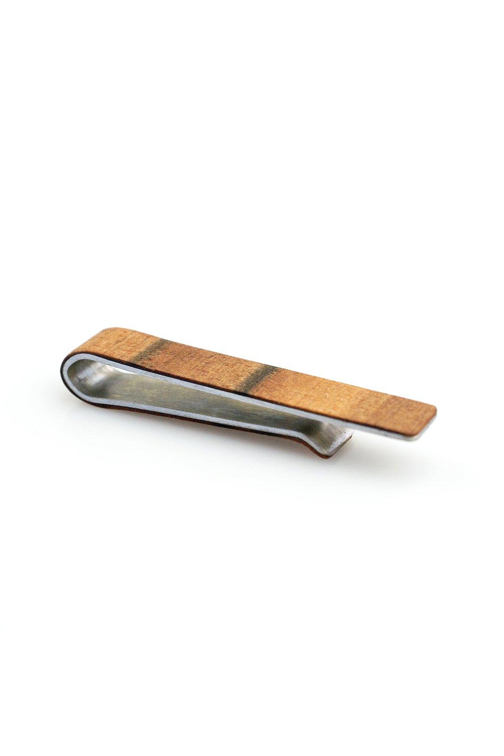Dřevěná spona na kravatu Tineo | JAA∞TY