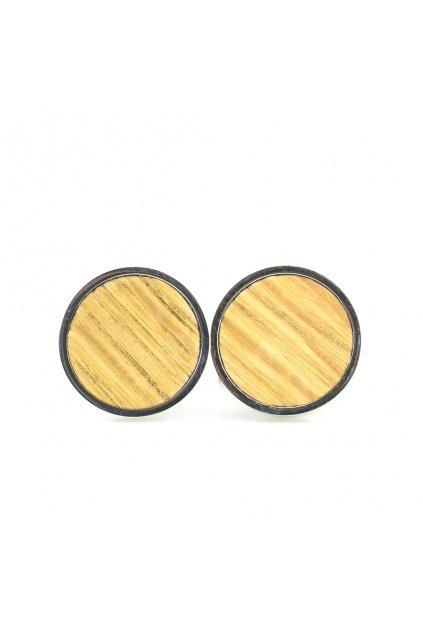 Pánské dřevěné manžetové knoflíčky Fagus | JAA∞TY
