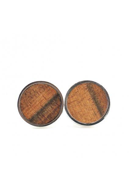 Pánské dřevěné manžetové knoflíčky Tineo | JAA∞TY