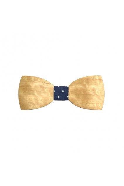 Dřevěný pánský motýlek Eucalyptus Indigo | JAA∞TY
