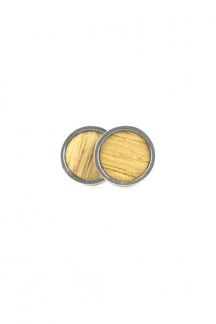 Dřevěné náušnice Fagus | JAA∞TY