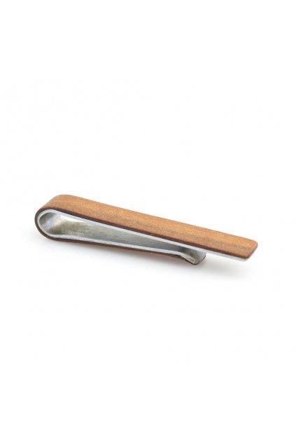 Dřevěná spona na kravatu Prunus | JAA∞TY