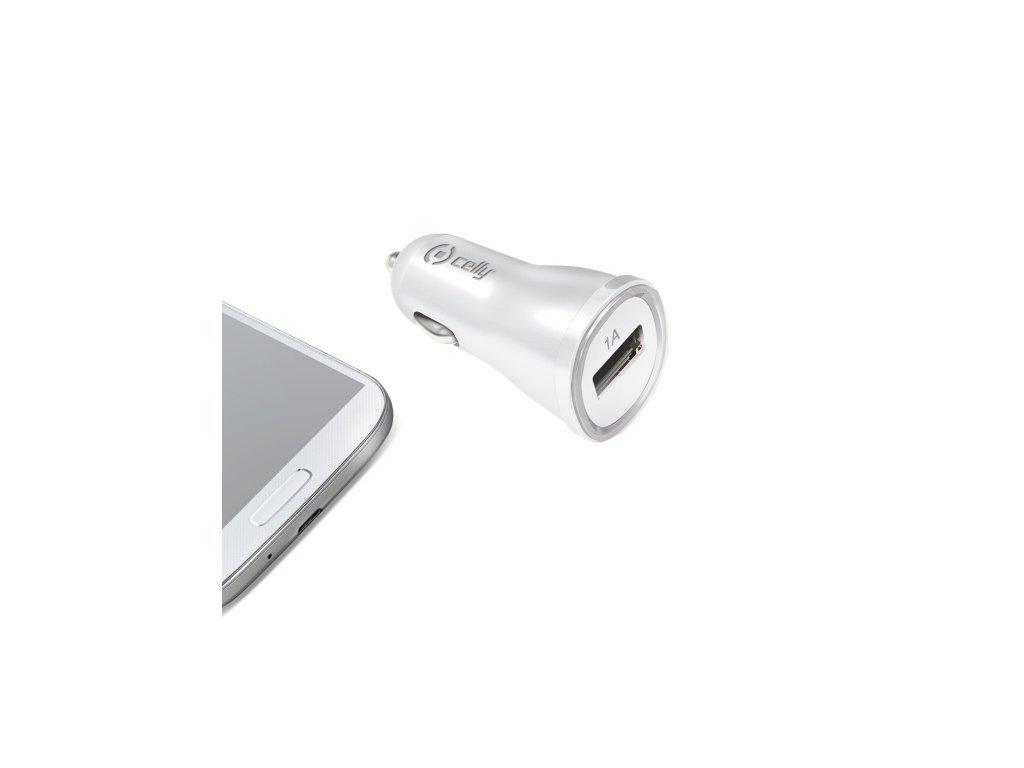 USB Autonabíječka Celly pro telefon