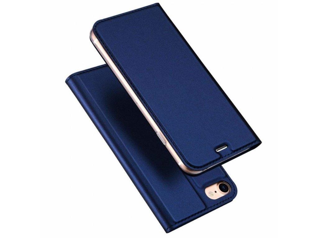 DUX DUCIS Magnetické Skin Book Phone 7/8/SE20 modrá