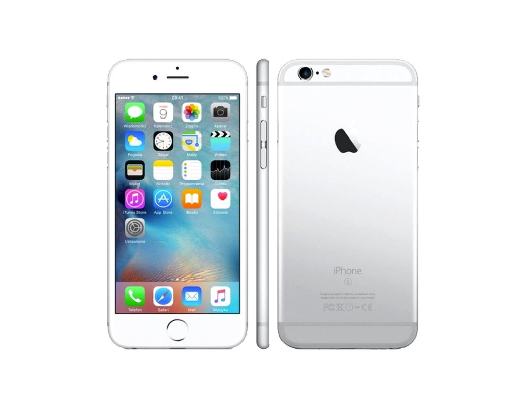 iPhone 6S 64GB (Stav B) Stříbrná