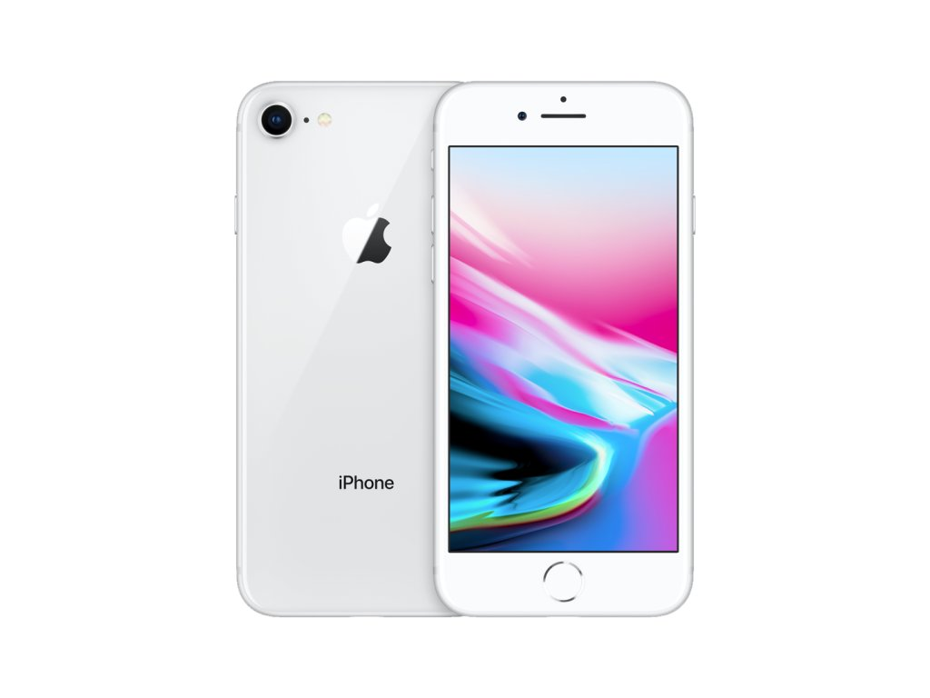 iPhone 8 64GB (Stav B) Stříbrná
