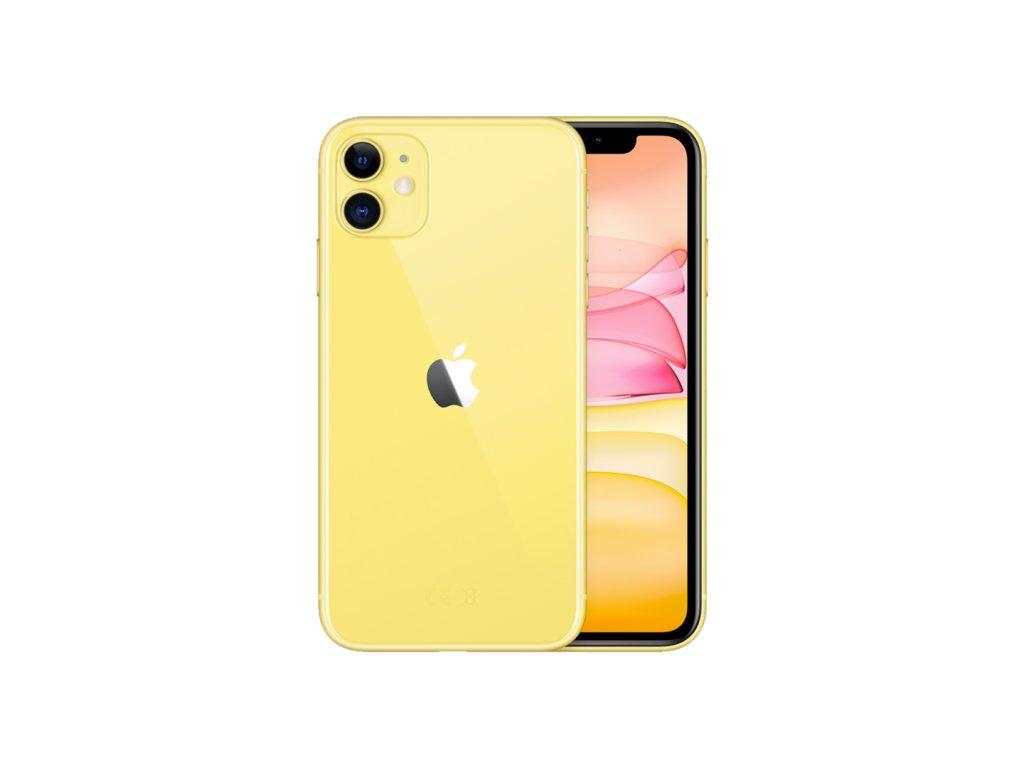 iPhone 11 64GB (Zánovní) Žlutá  ochranné sklo a nalepení ZDARMA!