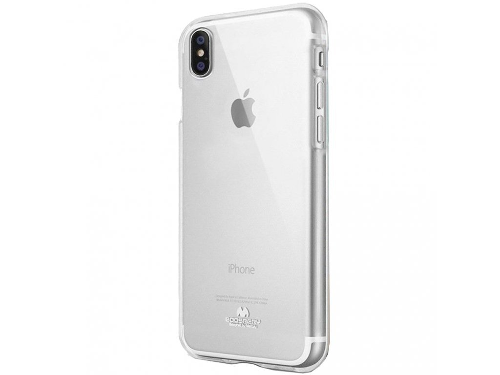 16628 6 ochranny kryt pro iphone xs max mercury jelly transparent