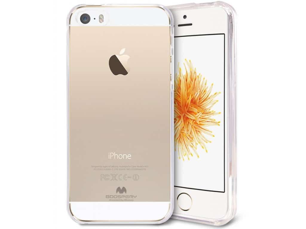 Pouzdro / kryt pro Apple iPhone 5 / 5S / SE - Mercury, Jelly Transparent