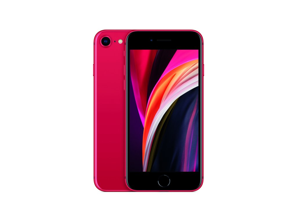 iPhone SE 2020 64GB (Zánovní) Červená  ochranné sklo a nalepení ZDARMA!