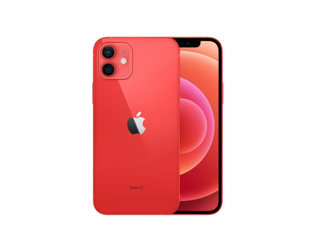 iPhone 12 64GB (Zánovní) Červená  ochranné sklo a nalepení ZDARMA!