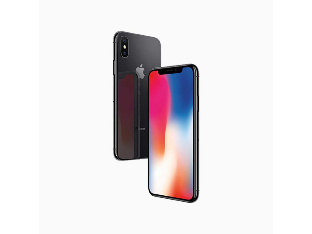 iPhone X 64GB (Stav B) Vesmírně šedá  ochranné sklo a nalepení ZDARMA!