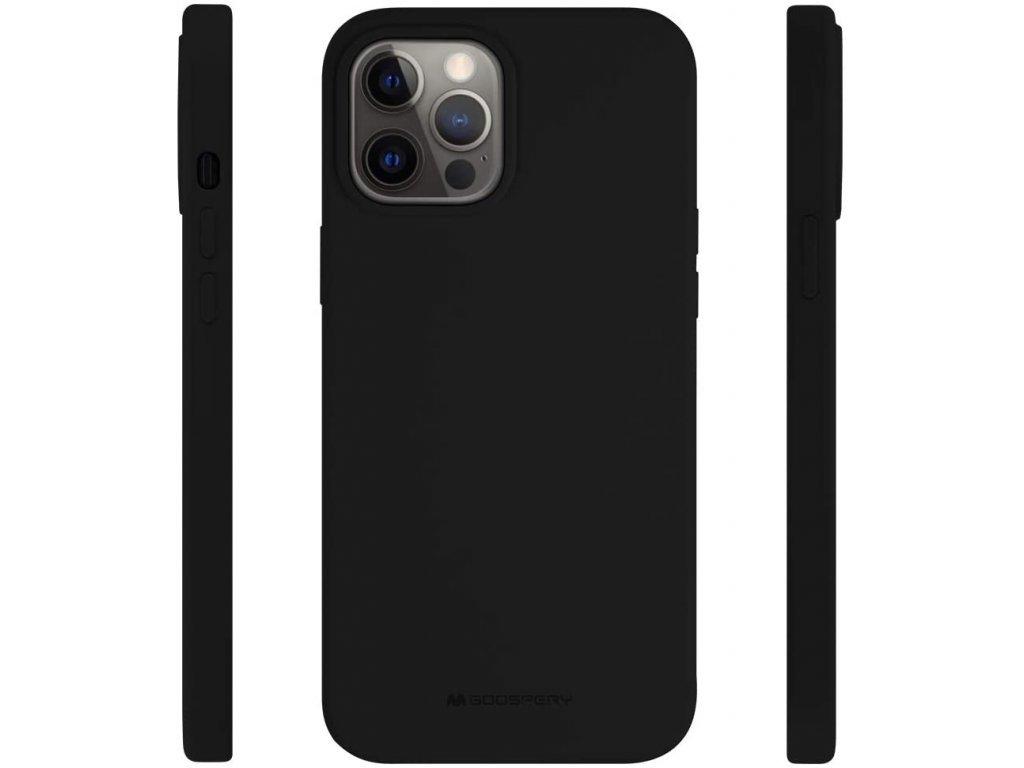 36539 1 ochranny kryt pro iphone 12 pro max mercury silicone black