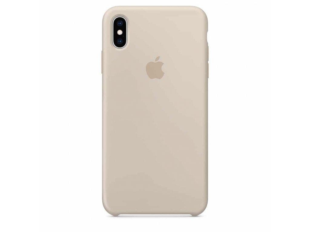 Ochranný kryt pro iPhone XS / X - Mercury, Soft Feeling Stone