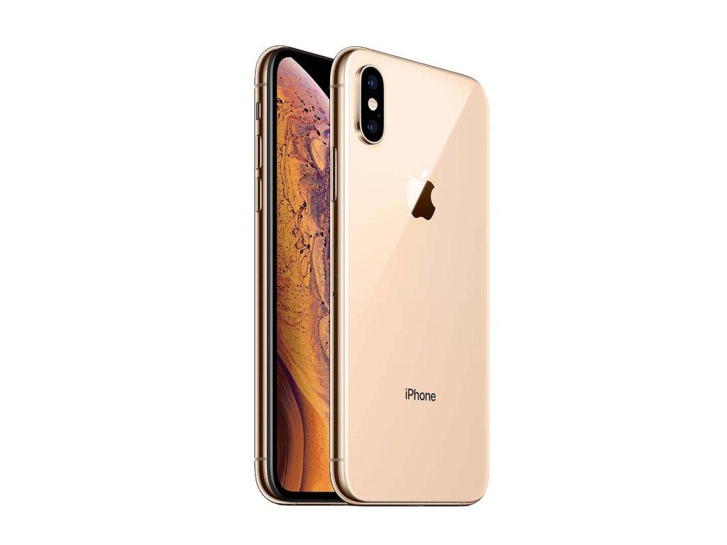 iPhone Xs 64GB (Stav A-) Zlatá  Sklo + powerbanka ZDARMA!