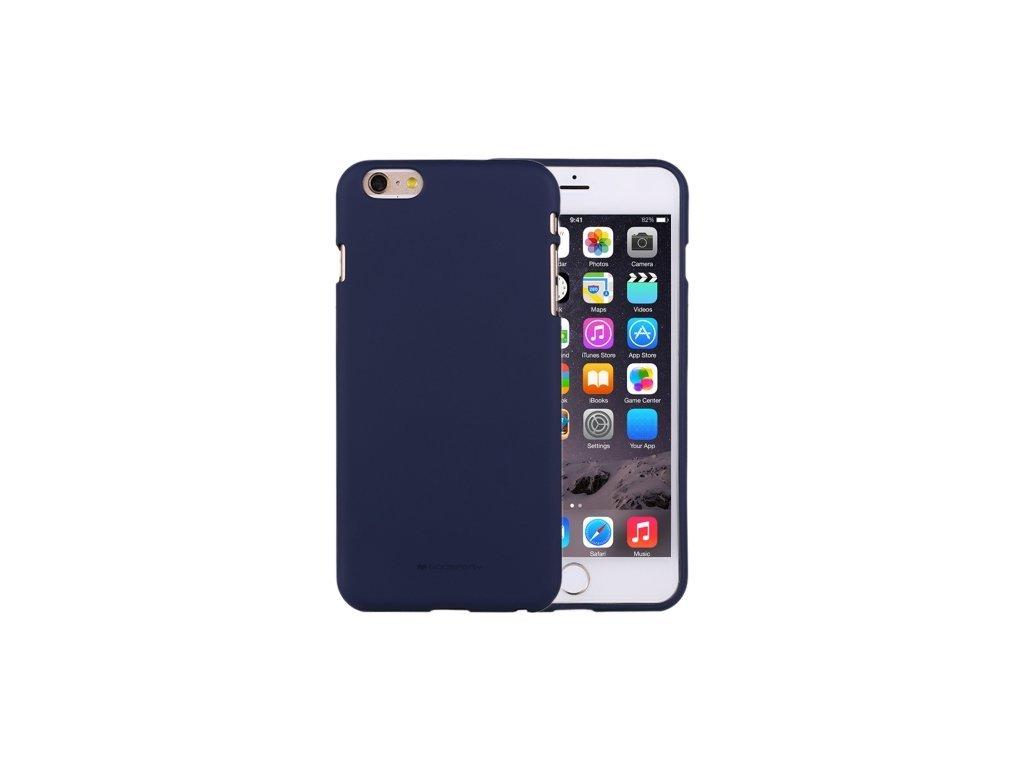 10770 ochranny kryt pro iphone 6 6s mercury soft feeling midnight blue