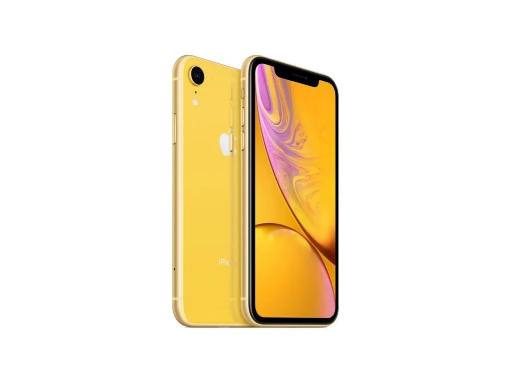 iPhone Xr 64GB Žlutá (Stav A-)  ochranné sklo a nalepení ZDARMA!