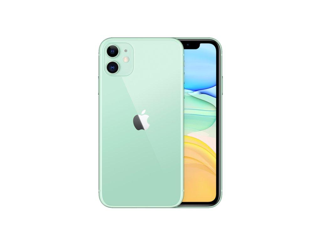 iPhone 11 64GB (Stav A) Zelená  ochranné sklo a nalepení ZDARMA!