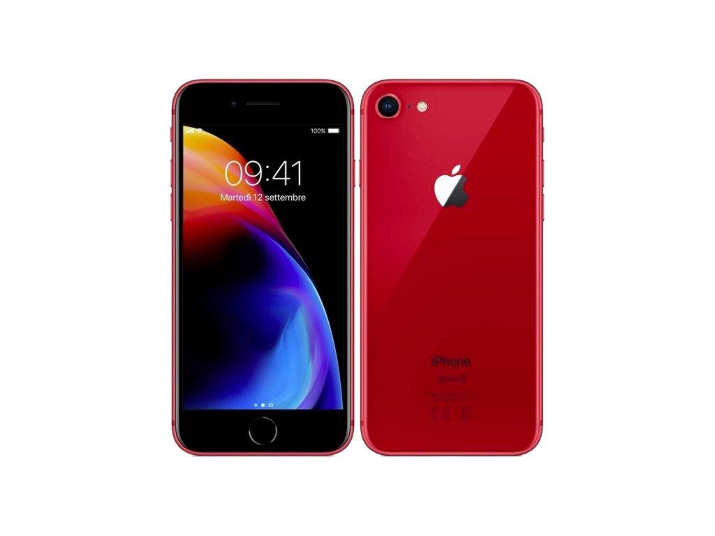 iPhone 8 256GB (Stav A) Červená