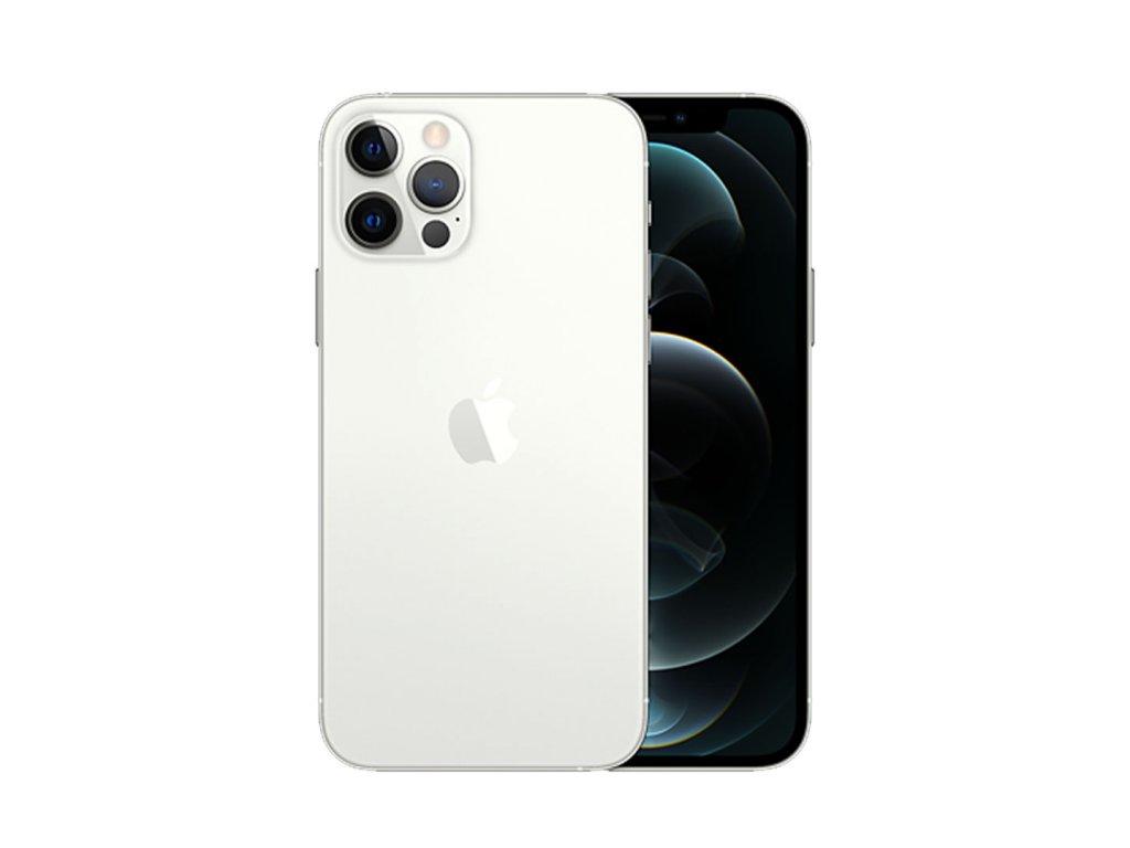 iPhone 12 Pro 128GB (Zánovní) Stříbrná  ochranné sklo a nalepení ZDARMA!