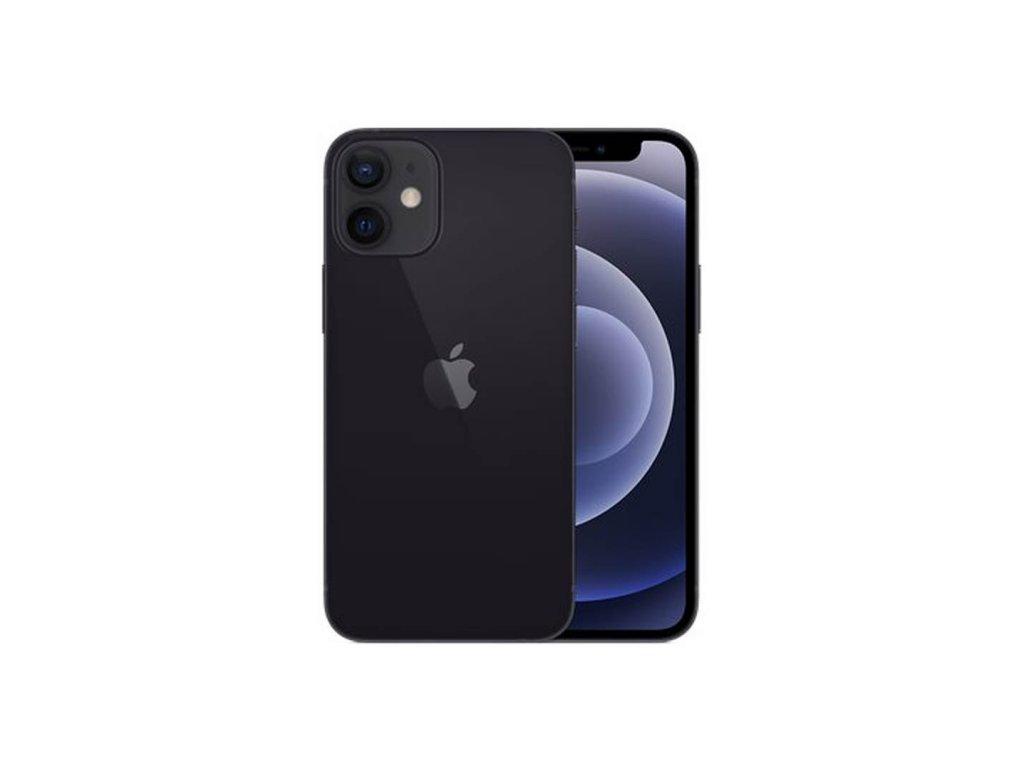 iPhone 12 Mini 64GB (Zánovní) Černá  ochranné sklo a nalepení ZDARMA!