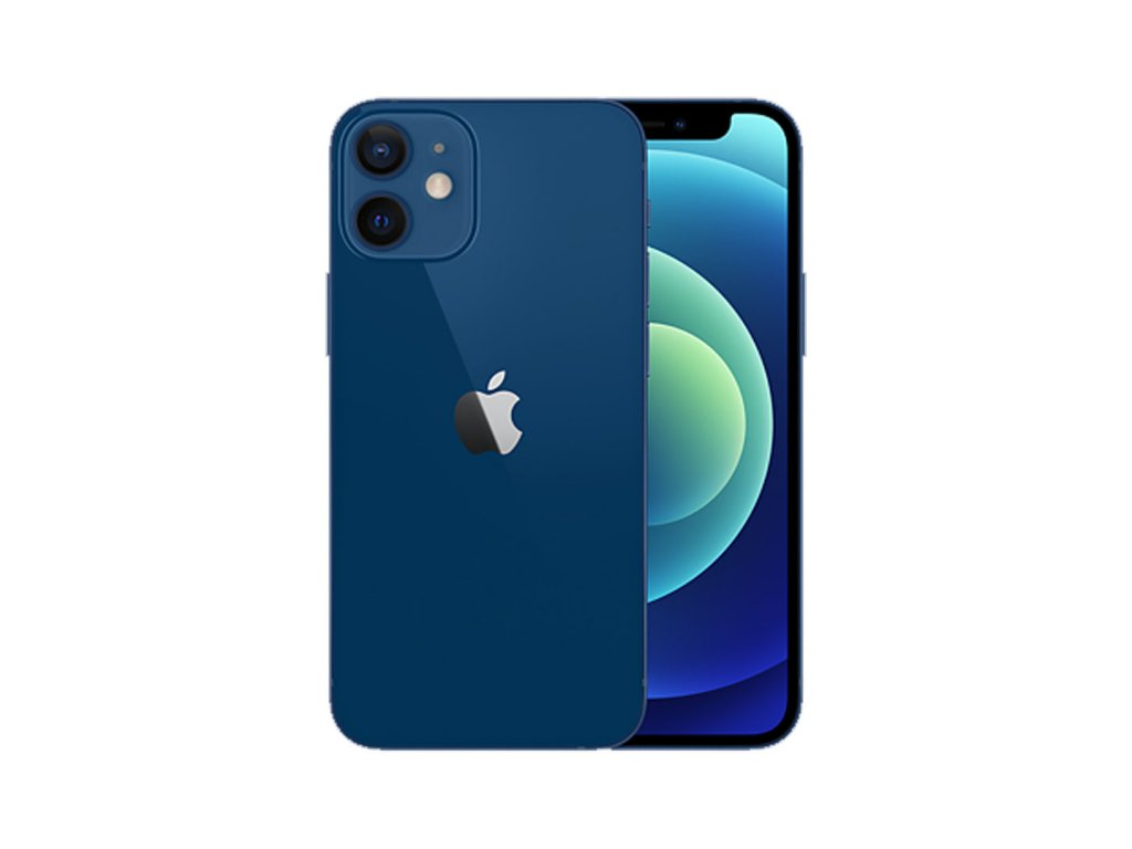 iPhone 12 Mini 64GB (Zánovní) Modrá  ochranné sklo a nalepení ZDARMA!