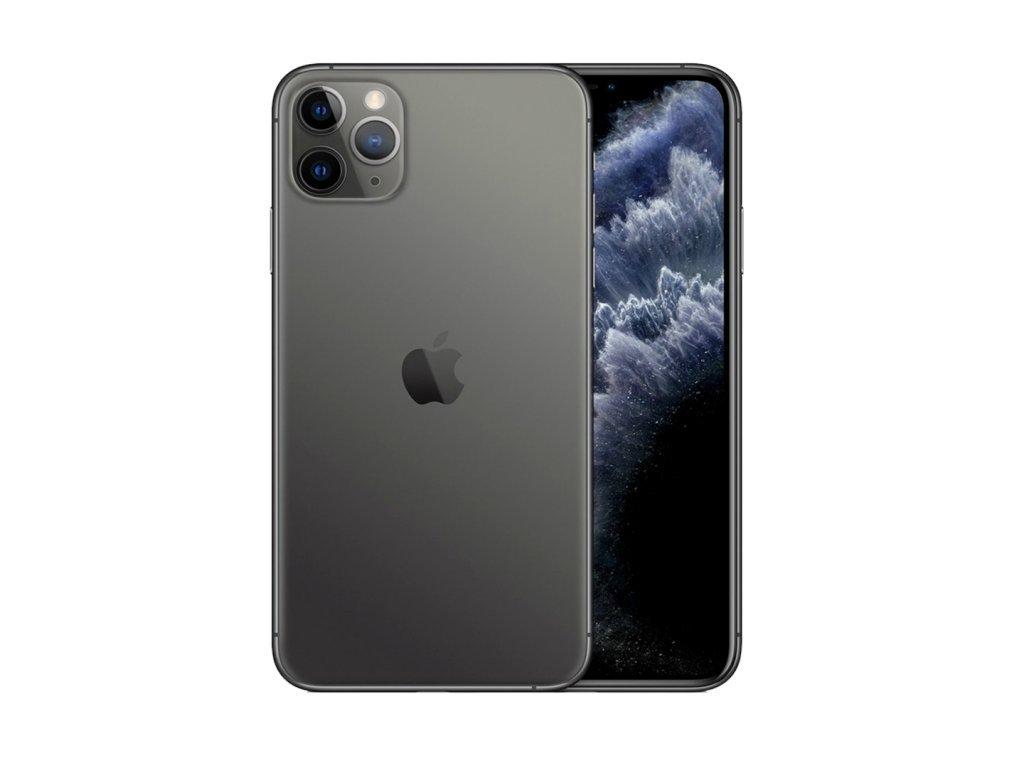 iPhone 11 Pro Max 256GB (Stav A-) Vesmírně šedá  ochranné sklo a nalepení ZDARMA!