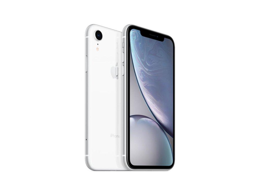 iPhone Xr 64GB (Stav A/B) Bílá  Ochranné sklo a nalepení ZDARMA!