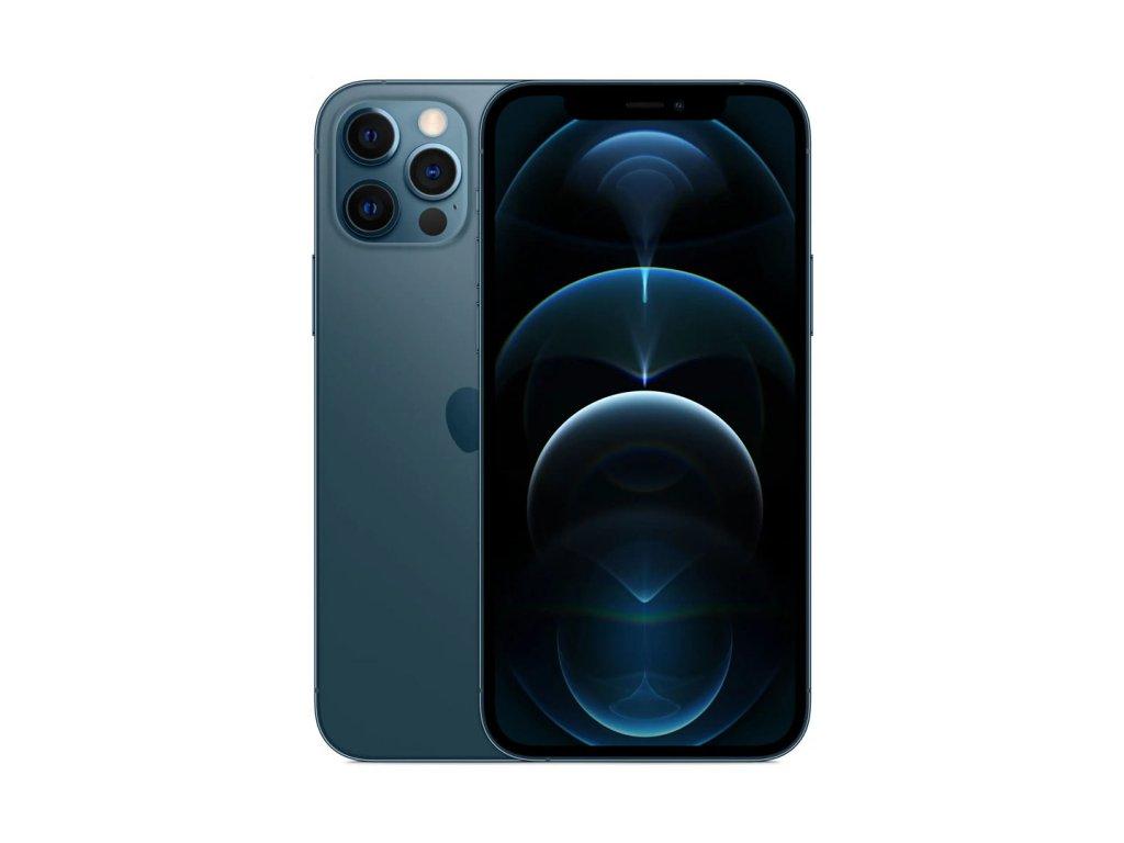 iPhone 12 Pro Max 256GB (Stav A-) Tichomořsky modrá  Ochranné sklo a nalepení ZDARMA!