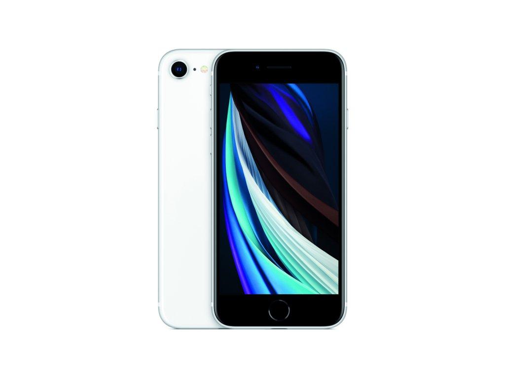 iPhone SE 2020 64GB (Stav A) Bílá  Ochranné sklo a nalepení ZDARMA!