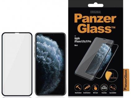 Ochranné tvrzené sklo pro iPhone X / XS / 11 Pro - PanzerGlass, Edge-to-Edge
