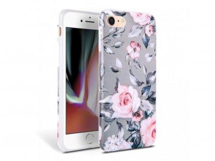25202 ochranny kryt pro iphone 7 8 se 2020 tech protect floral gray