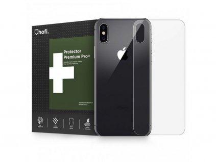 27956 hybridni ochranne sklo na zadni stranu iphone xs x hofi glass pro back