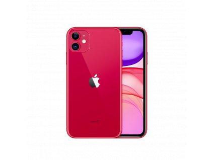 iPhone 11 128GB (Stav A) Červená  ochranné sklo a nalepení ZDARMA!