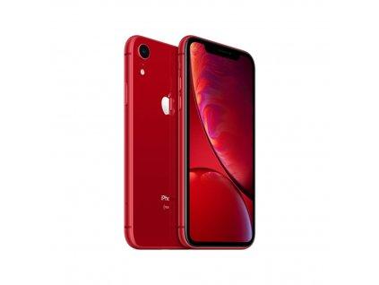 iPhone Xr 64GB (Stav A-) Červená  Ochranné sklo a nalepení ZDARMA!