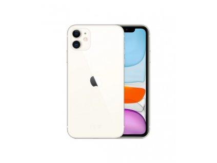 iPhone 11 128GB (Stav A-) Bílá  Ochranné sklo a nalepení ZDARMA!
