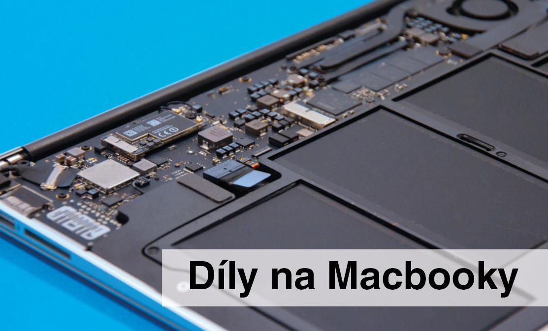 Díly na Macbooky
