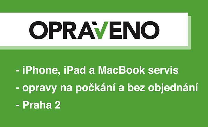 iPhone servis OPRAVENO