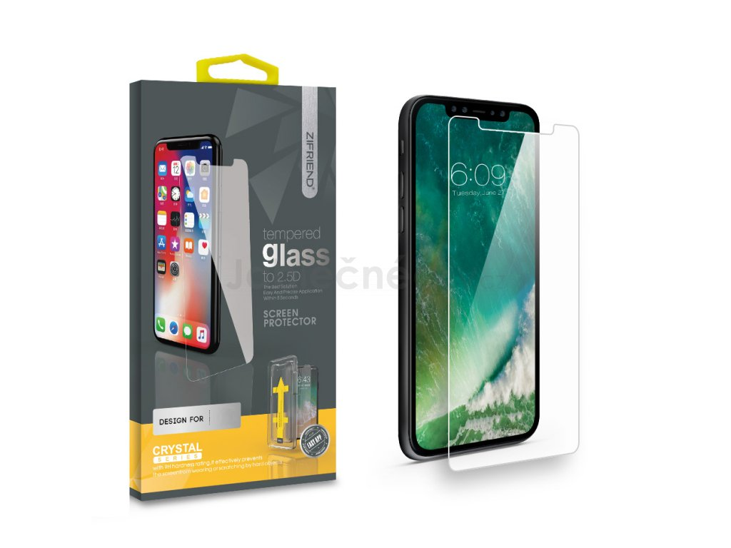 Ochranné tvrzené 2D sklo iPhone 5 / 5s / 5c / SE