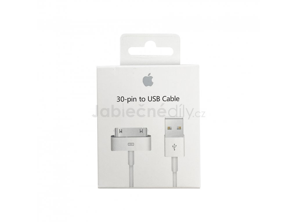 Originální Apple 30-pin to USB kabel
